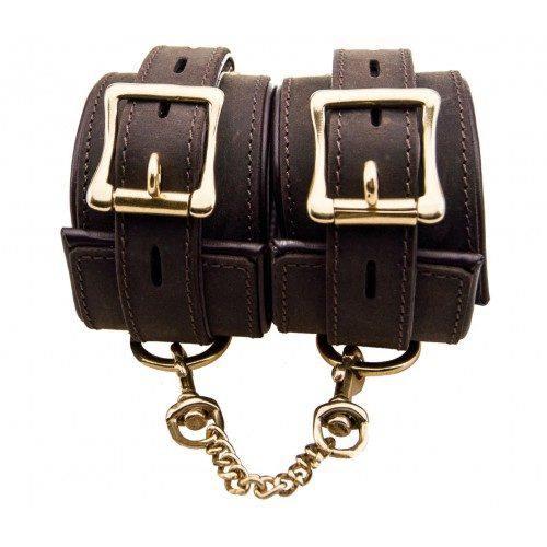 Bound Nubuck Cuffs